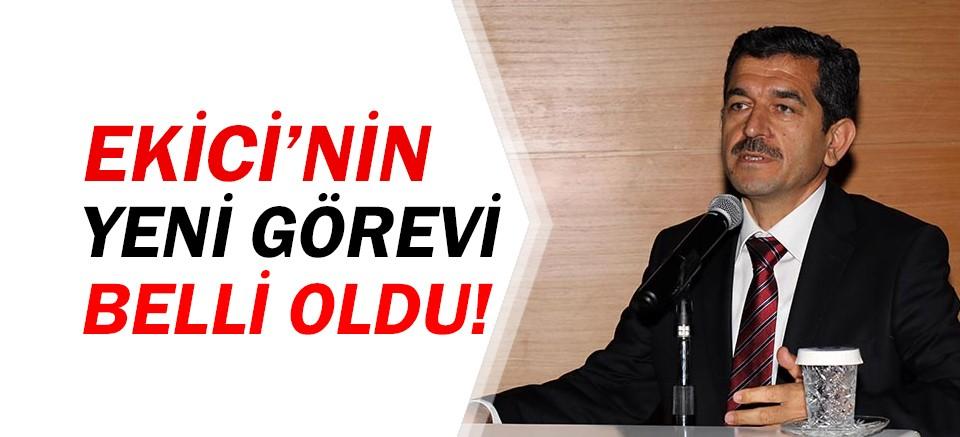 Birol Ekici'ye Türkiye Belediyeler Birliği'nde yeni görev!