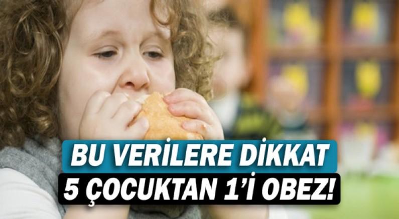 Bu Verilere Dikkat: 5 Çocuktan 1'i Obez!