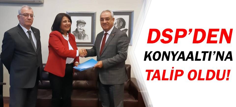 Buket Yılmaz Dağlı, DSP Konyaaltı Belediye Başkan Adayı!