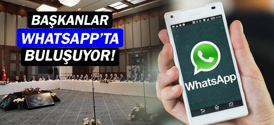 Büyükşehir belediye başkanları Whatsapp'ta grup kuruyor!