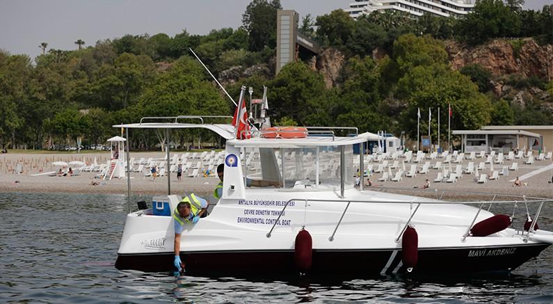 Büyükşehir Belediyesi'nin deniz denetimleri devam ediyor