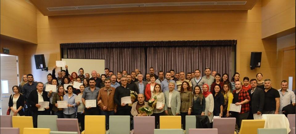Antalya'da şoför ve hosteslere eğitim