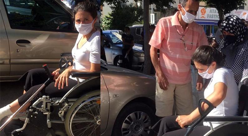 Büyükşehir'den YKS öncesi ayağı kırılan öğrenciye yardım