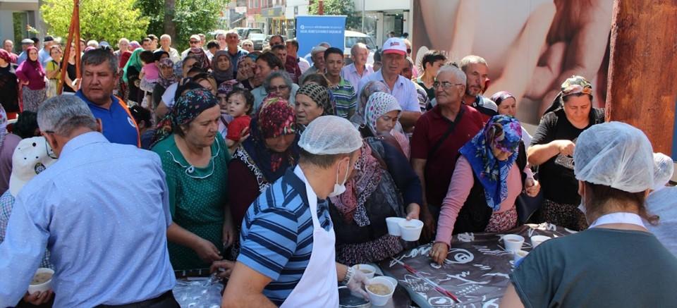 Büyükşehir'in aşure programı sona erdi