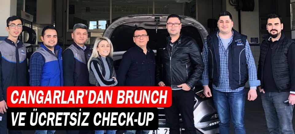 Cangarlar'dan brunch ve ücretsiz check-up