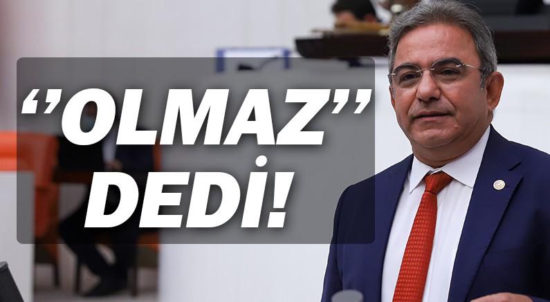 Çetin Osman Budak, ''Bu bütçeyle sanayi hamlesi olmaz'' dedi, cevap bekledi.
