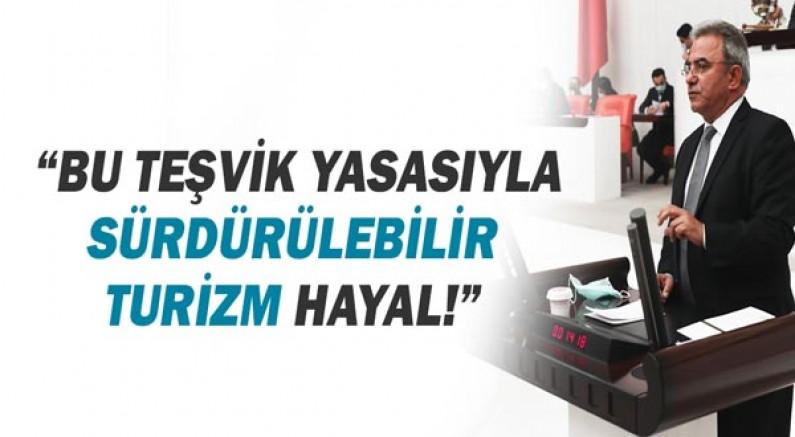 Çetin Osman Budak: Bu teşvik yasasıyla sürdürülebilir turizm hayal!