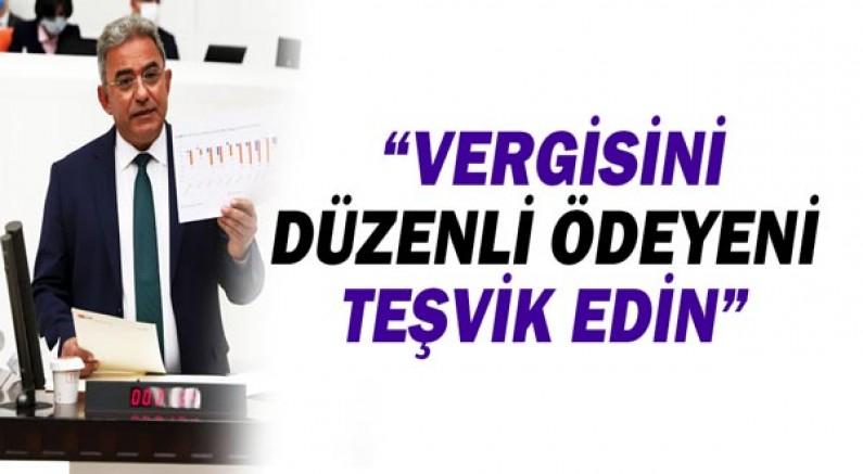 Çetin Osman Budak: Vergisini düzenli ödeyeni teşvik edin!