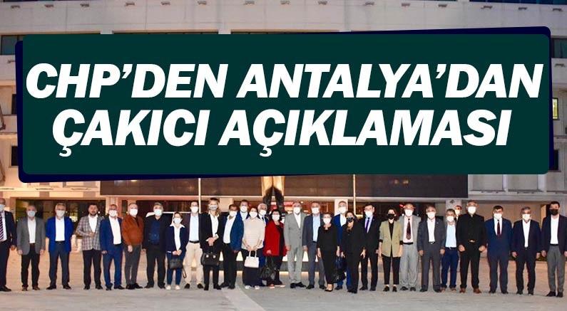 CHP Antalya'dan MHP'ye veryansın...