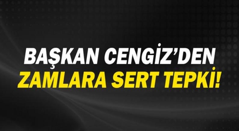 CHP Antalya İl Başkanı Nuri Cengiz'den zamlara sert tepki!
