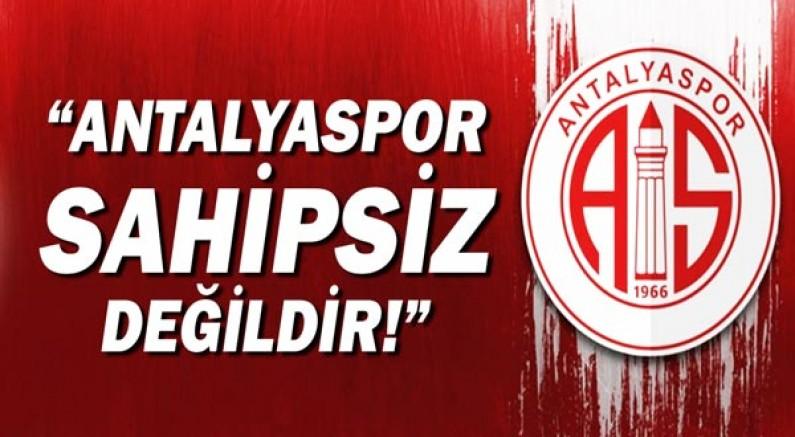 CHP Antalya Milletvekili Av.Cavit Arı: Antalyaspor Sahipsiz Değildir!