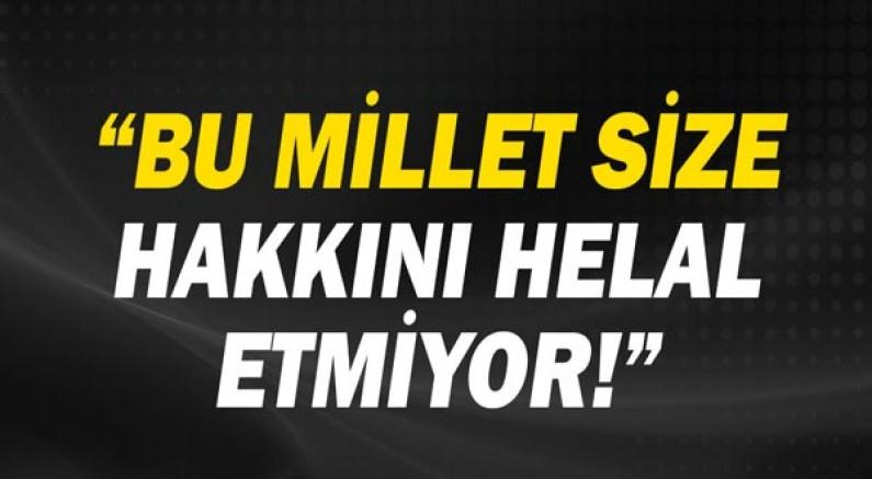 CHP Antalya Milletvekili Av.Cavit Arı: Bu millet size hakkını helal etmiyor.