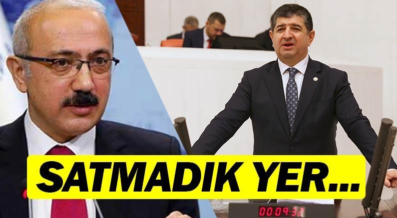 """CHP Antalya Milletvekili Av. Cavit ARI """"Ülkede Satılmayan Fabrika, Tesis Bırakmadınız."""" dedi."""