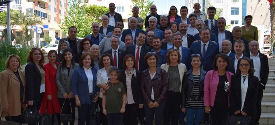 CHP'den başkanlara ziyaret...