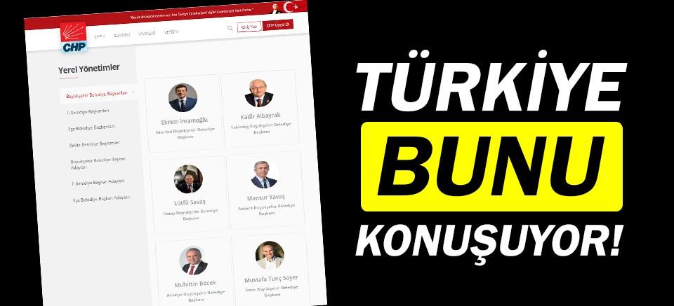 CHP'den flaş adım! İmamoğlu'nu listeye ekledi!