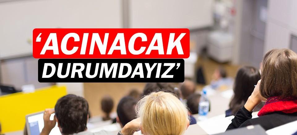 CHP İl Başkanı Kumbul 'Acınacak durumdayız' dedi!