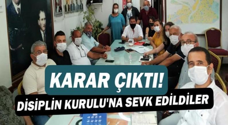 CHP Konyaaltı'nda disiplin cezası!