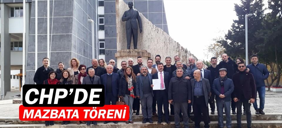 CHP Konyaaltı'nda mazbata töreni!