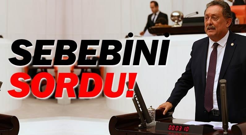 """CHP'li Aydın Özer, neden altı aydır Antalya'ya afet yardımı yapılmadığını sordu, """"Özel bir sebebi mi var?"""" dedi."""