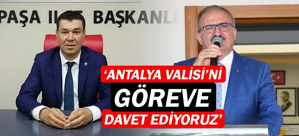 CHP'li Başkan Şahin: Muratpaşalılar cezalandırılıyor!