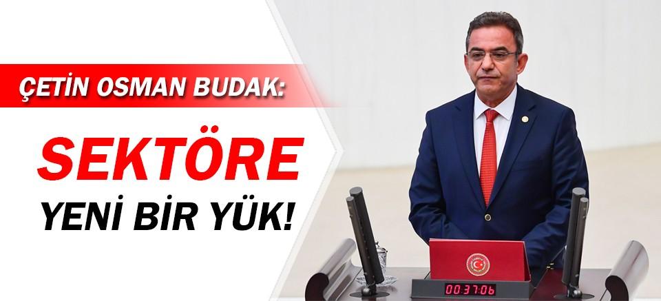CHP'li Budak: Konaklama vergisi sektöre yeni bir yük!