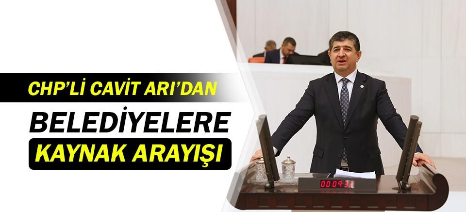 CHP'li Cavit Arı'dan belediyelere destek!