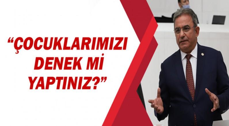 """CHP'li Osman Budak """"Çocuklarımızı Denek mi Yaptınız?"""""""
