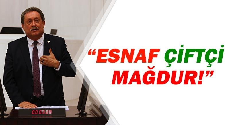 CHP'li Özer Albayrak'a mağdur esnaf ve çiftçinin borçlarını sordu!