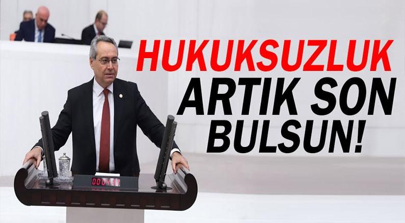 CHP milletvekili meclise soru önergesi sundu.