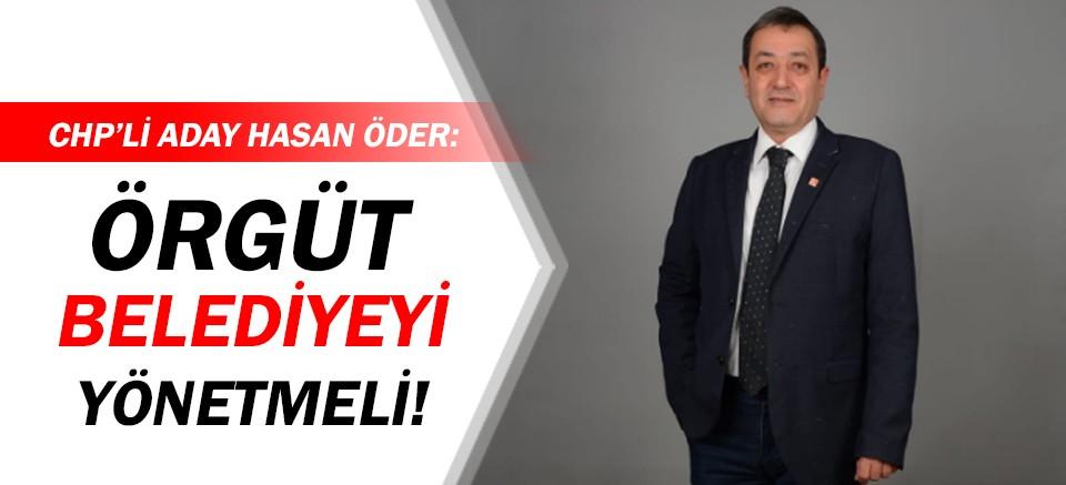 CHP Muratpaşa İlçe Başkan Adayı Öder'den dikkat çeken açıklama!