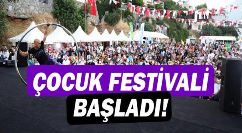 Çocuk festivali başladı!