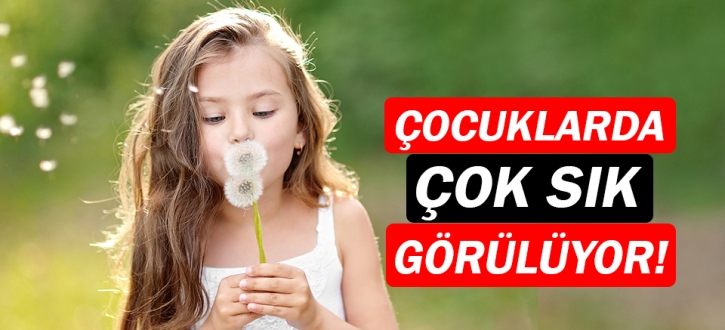 Çocuklarda en sık görülen yaz alerjileri