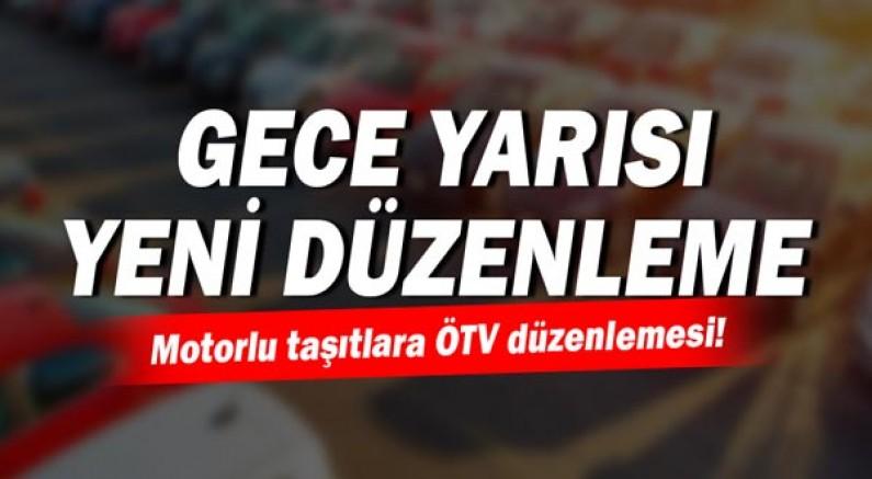 Cumhurbaşkanı Kararı: Motorlu taşıtlara ÖTV düzenlemesi!