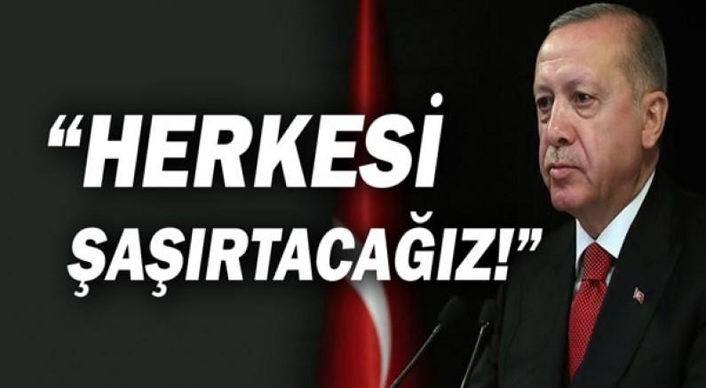 Cumhurbaşkanı Recep Tayyip Erdoğan'dan olumlu mesajlar!