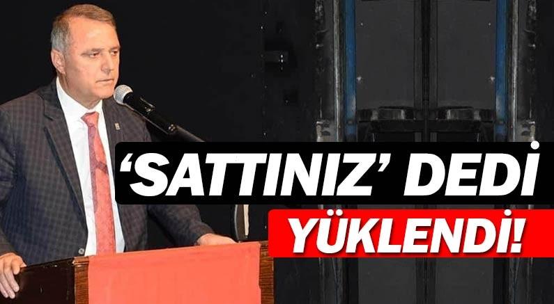 Cumhuriyet Halk Partisi Antalya İl Başkanı Nusret Bayar, ''memleketi sattınız'' dedi.