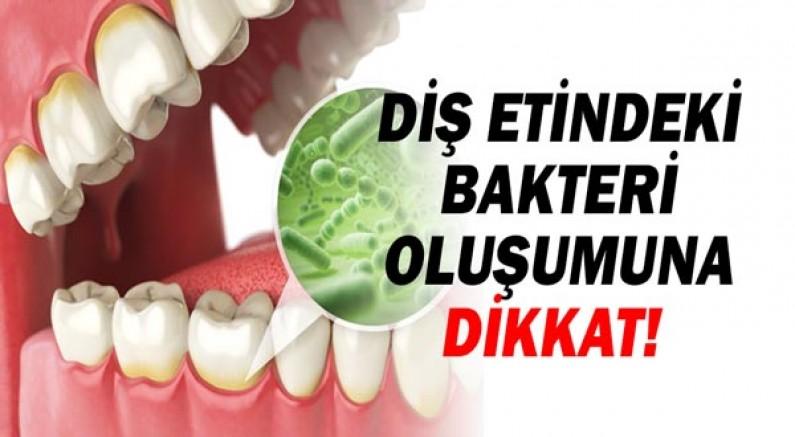 Diş Etindeki Bakteri Oluşumuna Dikkat!