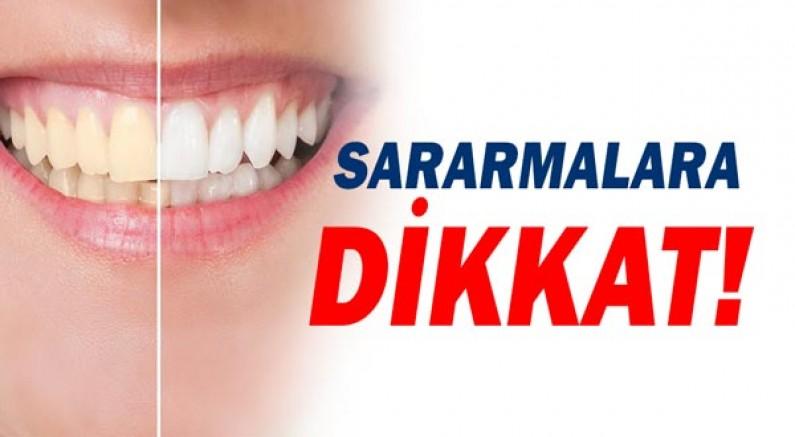 Dişlerdeki Sararmalara Dikkat!