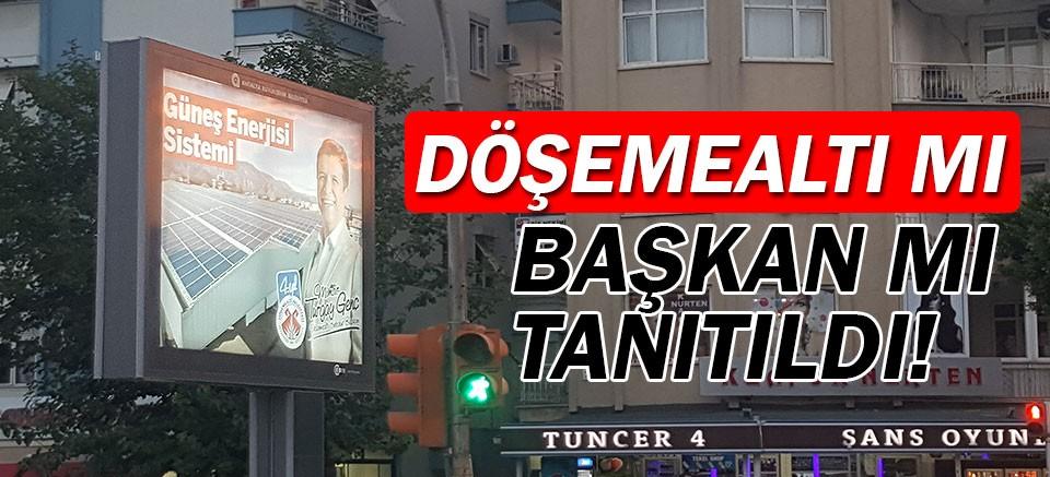 Döşemealtı mı tanıtıldı, başkan Turgay Genç mi?