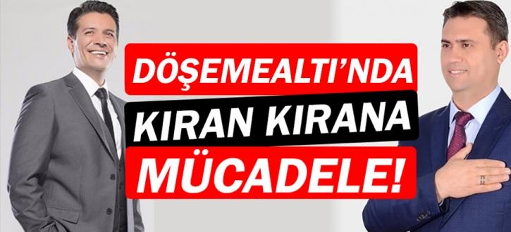 Döşemealtı'nda  kazanan Turgay Genç oldu!