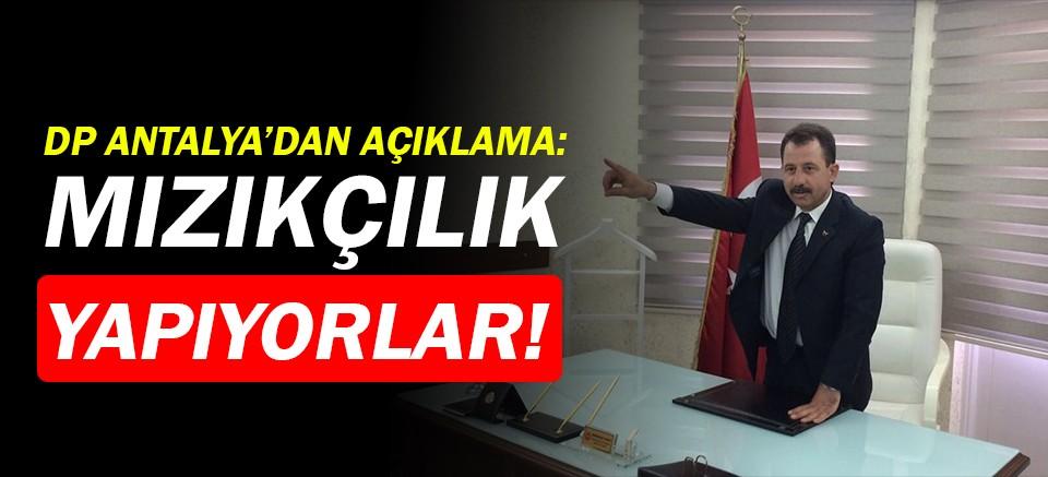DP Antalya İl Başkanı Kartal'dan YSK isyanı!