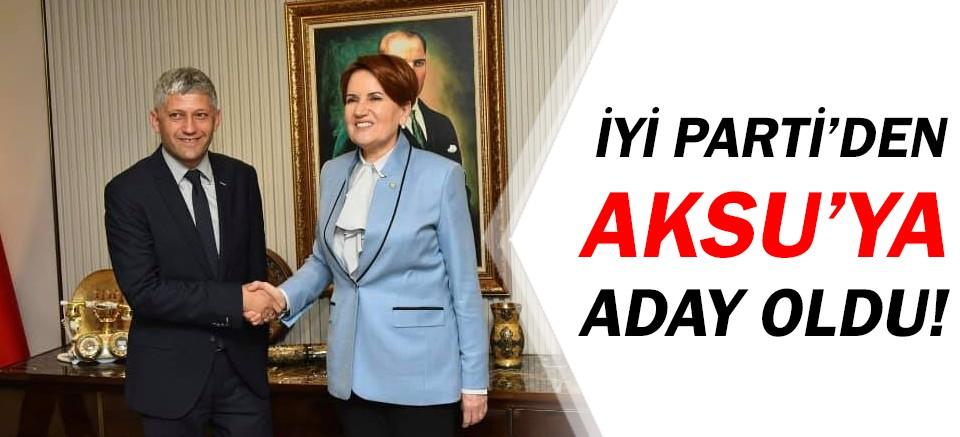 Durmuş Ali Arslan, Aksu Belediyesi'ne aday!