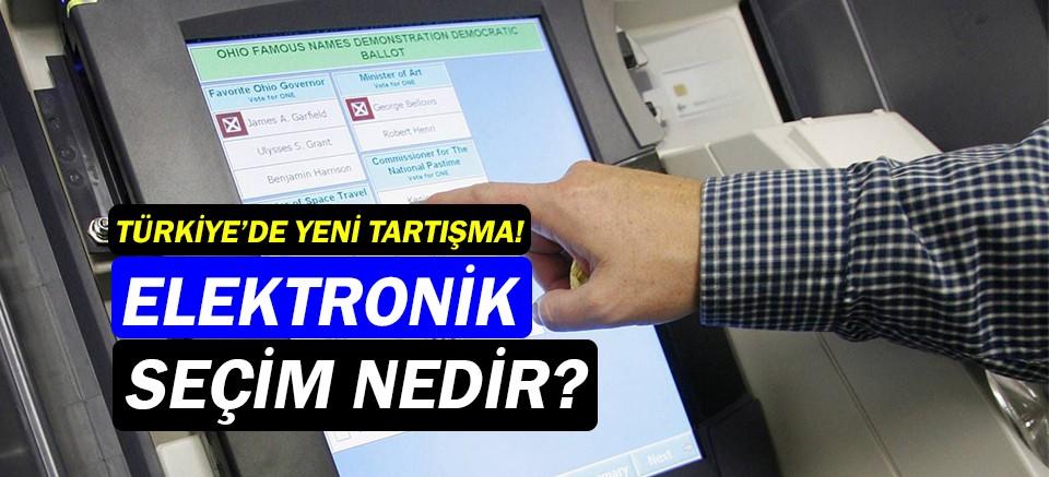 Elektronik seçim nedir? Türkiye'de elektronik seçim...