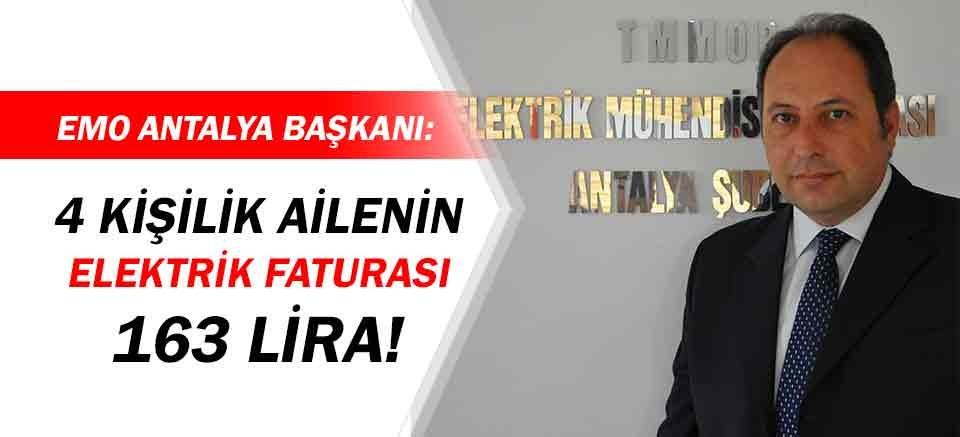 EMO Antalya Başkanı Metin: Zamlar yüzde 32'ye ulaştı!
