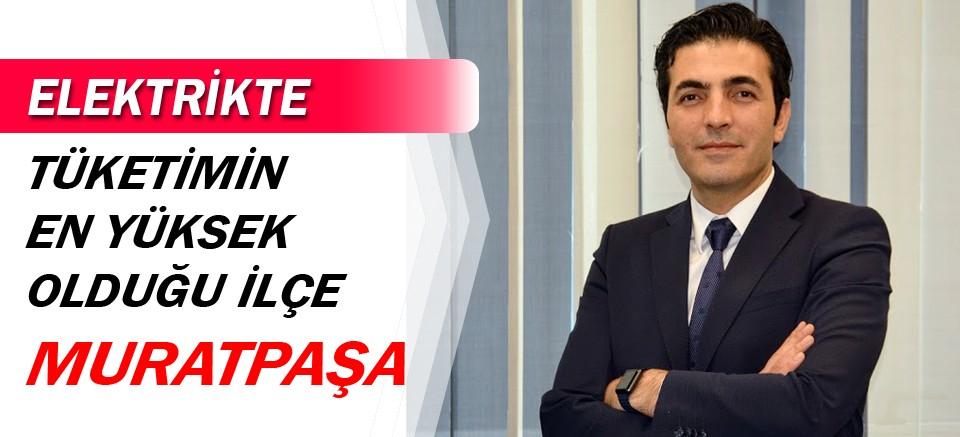 En çok elektrik tüketen ilçe Muratpaşa