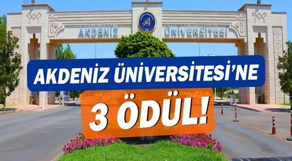 Engelsiz Üniversite Ödülü Akdeniz Üniversitesi'nin!