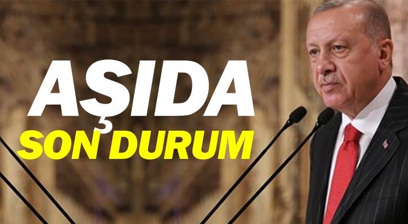 Erdoğan aşı ile ilgili son aşamayı açıkladı...