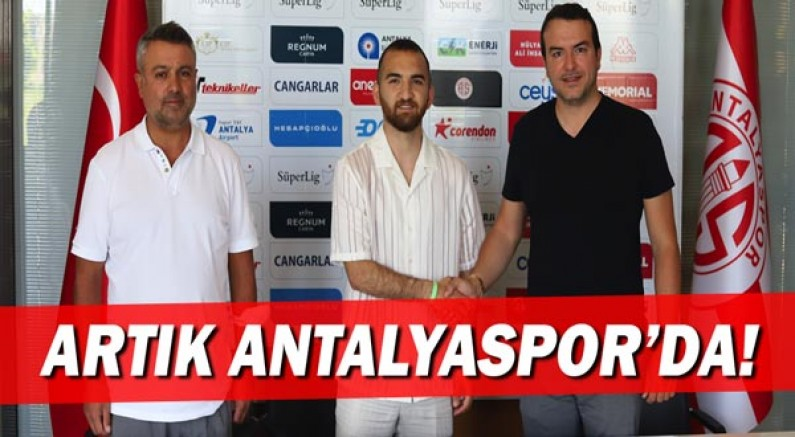 Erkan Eyibil Antalyaspor'da!