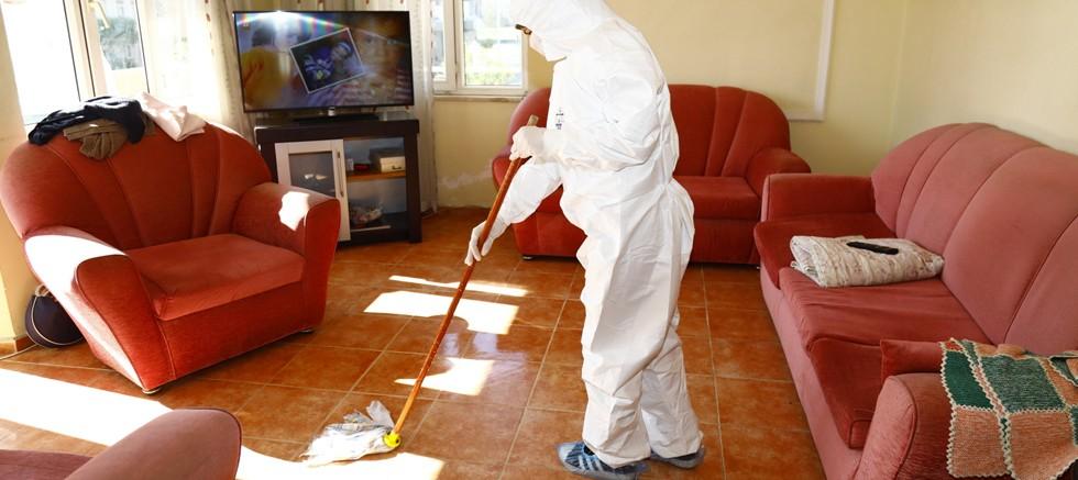 Evde bakım hizmetleri hassas tedbirlerle devam ediyor