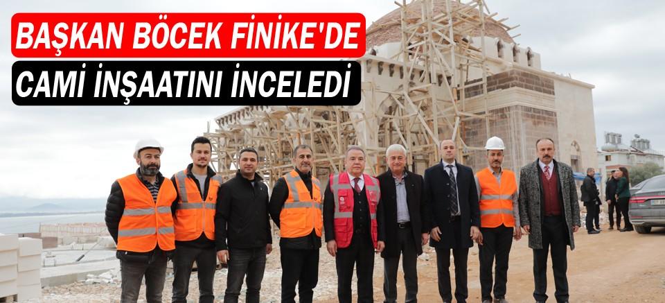 Finike Eroğlu Nuri Camii Ramazan Bayramı'na yetişecek