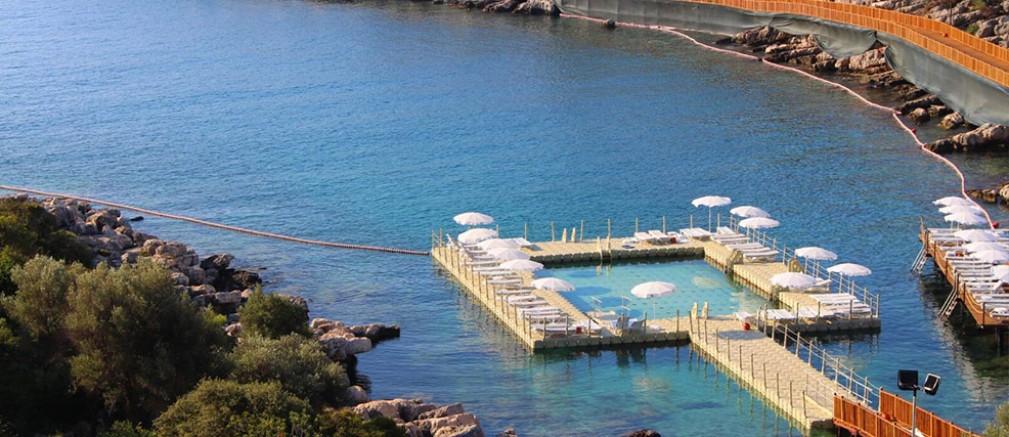 Finike Kadınlar Plajı rekor kırıyor...